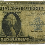 1923 $1 Silver Certificate (Fair-Good)