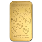 1 oz Johnson Matthey Gold Bar (Republic Bank New York) .9999 Fine