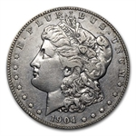 1904-S Morgan Dollar - Extra Fine Details - Cleaned