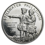 1/10 oz Johnson Matthey Palladium Lewis & Clark Round (Single)