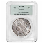 1882-CC Morgan Dollar - MS-65 PCGS
