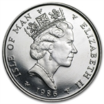 1986 1 oz Isle of Man Platinum Noble (Proof &/or Uncirculated)