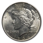 1934-D Peace Dollar MS-62 PCGS