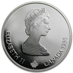 1988 1 oz Silver $20 Canadian Olympic Proof Coin