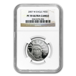 2007-W 1/2 oz Proof Platinum American Eagle PF-70 NGC