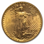 1910 $20 St. Gaudens Gold Double Eagle - MS-63 NGC