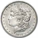 1878 Morgan Dollar - 8 Tailfeathers AU - VAM-14.3