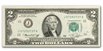 1976 (J-Kansas City) $2 FRN (Crisp Uncirculated)