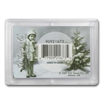 Harris Holder #1673 - Happy Holidays (Silver Eagle)