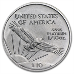 2005 1/10 oz Platinum American Eagle - Brilliant Uncirculated