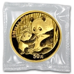 2005 (1/10 oz) Gold Chinese Pandas - (Sealed)