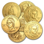 Random Year - 1/2 oz Gold First Spouse Coins BU/PR (Capsule)
