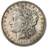 1892-S Morgan Dollar XF-45 Details - Cleaned VAM-2 Doubled Date