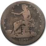 1877-S Trade Dollar - Almost Good