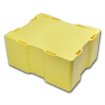 Empty 500-Coin 1 oz Silver Maple Leaf Monster Box (Yellow)