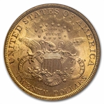 1899 $20 Gold Liberty Double Eagle - MS-63 NGC
