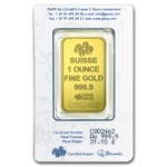 1 oz Gold Dream Pamp Suisse Gold Bar (in Assay Card)