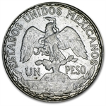 Mexico 1910 Peso Silver XF or Better Caballito