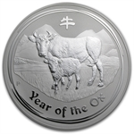 2009 Year of the Ox - 1 Kilo Silver Coin (Series II)