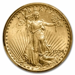 1924 $20 St. Gaudens Gold Double Eagle - MS-63 PCGS