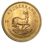 1970 1 oz Gold South African Krugerrand (Brilliant Uncirculated)