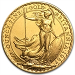 1/2 oz Gold Britannia (Proof &/or Uncirculated) (Abrasions)