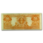 Series 1922 $20 Gold Certificate - Very Fine