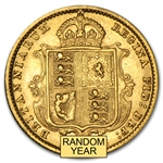 Great Britain Gold 1/2 Sovereign Victoria Jubilee Head (Avg Circ)