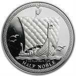 1/2 oz Isle of Man Platinum Noble (Proof &/or Uncirculated)