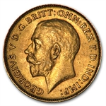 South Africa Gold 1/2 Sovereign George V (XF or Better)