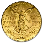 Mexico 1931 50 Pesos Gold Coin (AU/BU)