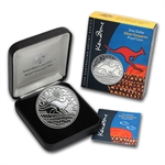 2009 1 oz Australian Proof Silver Kangaroo - Artists Series