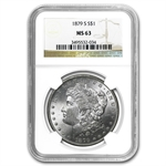 1879-S Morgan Dollar - MS-63 NGC