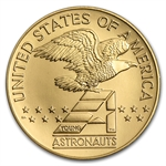 Gold America in Space Young Astronaut Medal (AGW .24187)