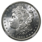 1883-O Morgan Dollar - MS-63 NGC