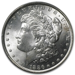 1886 Morgan Dollar - MS-64 PCGS