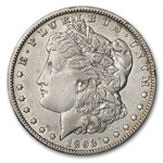1893-O Morgan Dollar - Almost Uncirculated Details - Cleaned