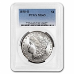 1898-O Morgan Dollar - MS-65 PCGS