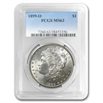 1899-O Morgan Dollar - MS-63 PCGS