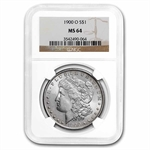 1900-O Morgan Dollar - MS-64 NGC