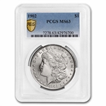 1902 Morgan Dollar MS-63 PCGS