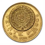 Mexico 1921 20 Peso Gold (AU/BU)