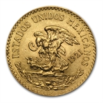 Mexico 1921 20 Pesos Gold Coin (AU/BU)