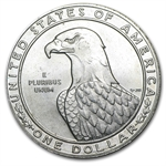 U.S. Mint $1 Silver Commemorative (Abrasions) (.7734)