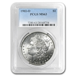1902-O Morgan Dollar - MS-63 PCGS