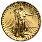 1986 MCMLXXXVI 1/10 oz Gold American Eagle Brilliant Uncirculated