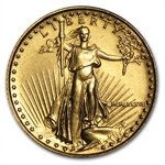 1987 MCMLXXXVII 1/10 oz Gold Eagle Brilliant Uncirculated