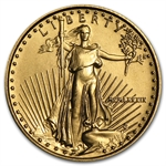 1989 MCMLXXXIX 1/10 oz Gold American Eagle Brilliant Uncirculated