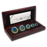 2003 Silver Canadian Maple Leaf 5-Coin Set (Hologram)