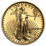 1991 MCMXCI 1/10 oz Gold American Eagle Brilliant Uncirculated